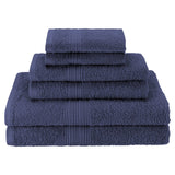 Money Saver Navy Blue Towel Sets Good Host Shop
