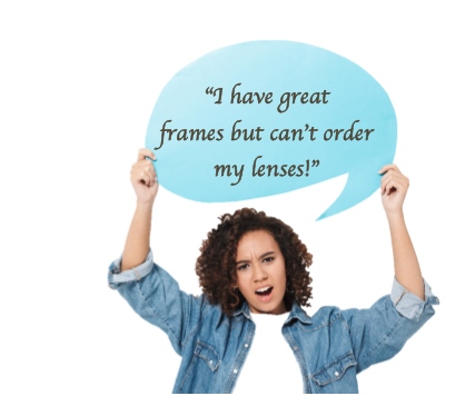 SEND US YOUR FRAME FOR RELENSING!   NEED HELP? CALL OR TEXT           347 254 1625                           MON-SUN 10-8 PM.