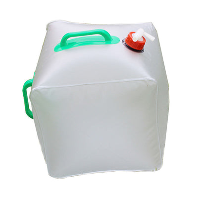 20L Portable Folding Water Storage Bags Carrier Container Outdoor Collapsible PVC