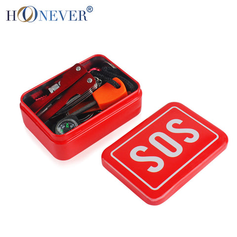 SOS Survival Box Travel Kit