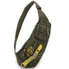 Waterproof Nylon Cross-body Sling Back Pack