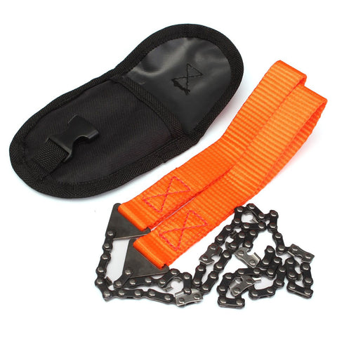 Heavy Duty Hand Chain Saw Tool With Pouch
