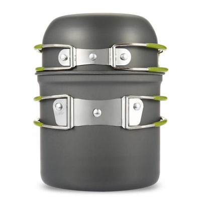 New Ultra-light Outdoor Camping Cookware - Non-stick pot and pan