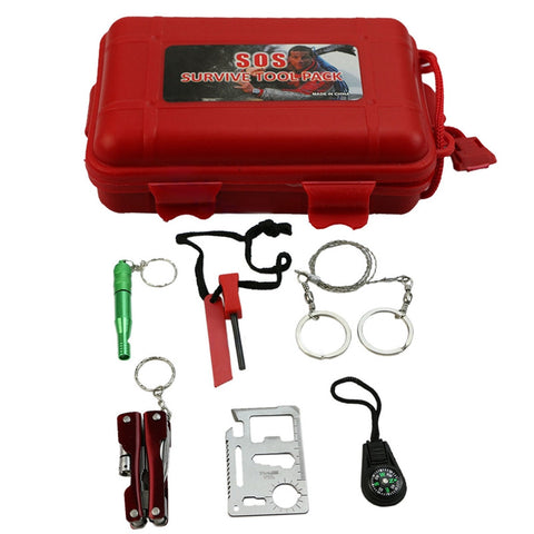 Portable Emergency SOS Kit
