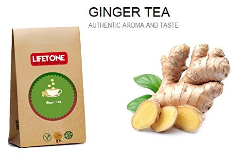 Ginger Tea,Authentic Aroma and Taste,40 Teabags,80g