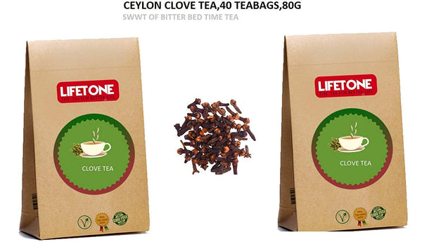 Clove Tea | 100% Natural | Delicious Stomach Tea | 40 Teabags