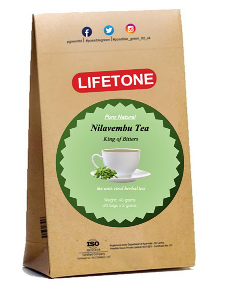 King of Bitters - Andrographis Tea | Immunity Tea | Nilavembu Tea