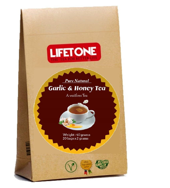 garlic honey tea
