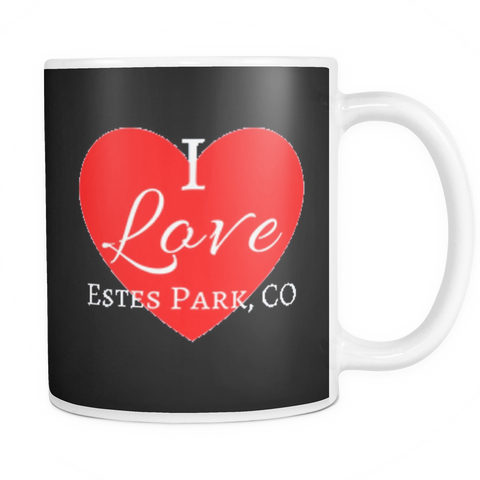 """I Love Estes Park"" 11 oz Mugs"