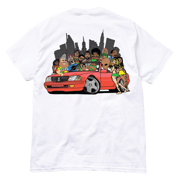 Gang's All Here Tee White