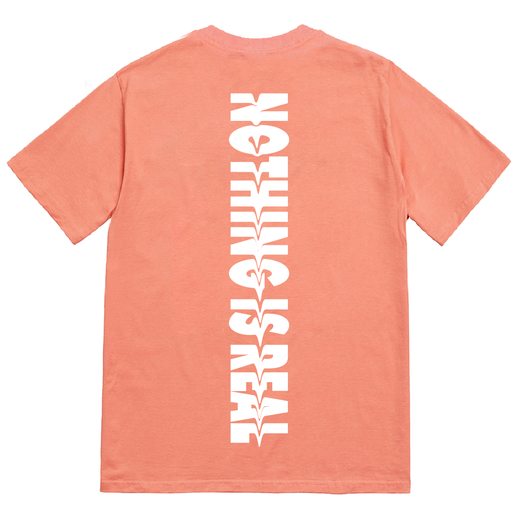 Nothing Is Real Tee Coral