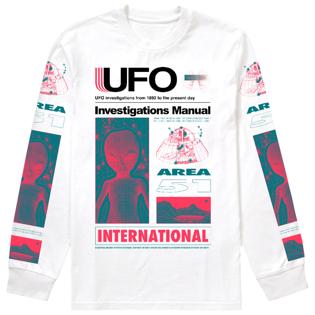 UFO Investigations Long Sleeve Tee