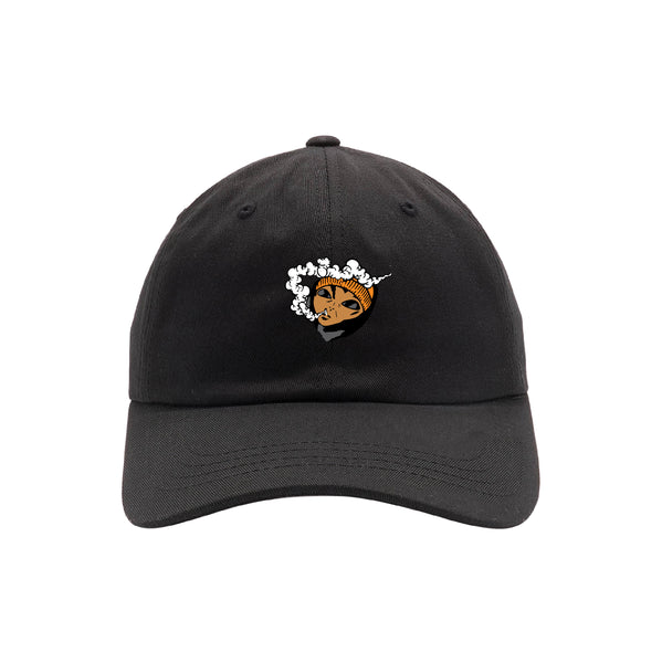 Lil Mayo Smoke Dad Cap Black