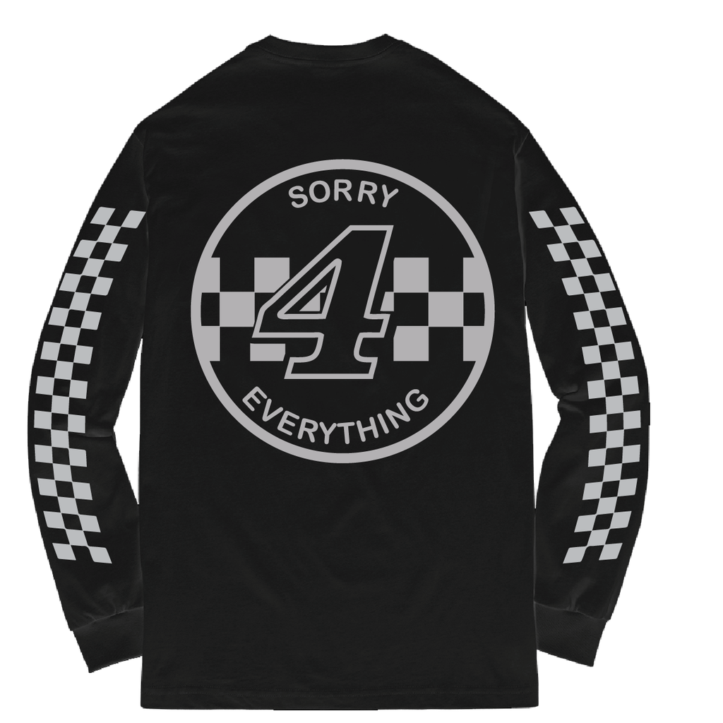 Sorry 4 Everything Reflective Long Sleeve Black