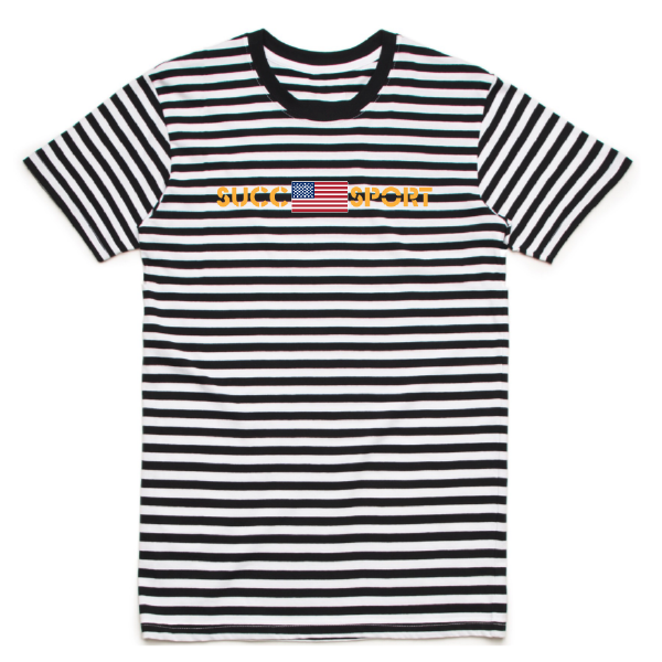 Succ Sport Striped Tee