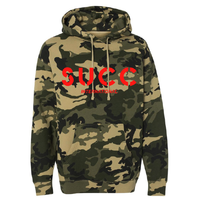 Red 3M Reflective Hoodie Camo