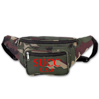Camo 3m Reflective Hip Bag