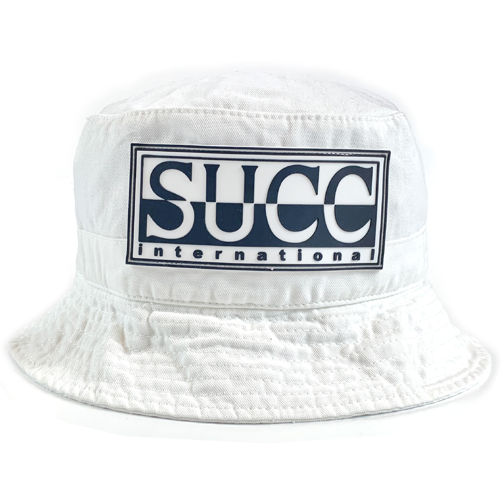 SUCC INTL Bucket Hat White