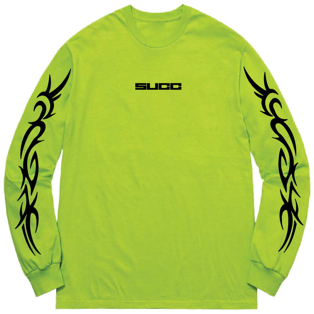Join the Tribe Long Sleeve Saftey Yellow