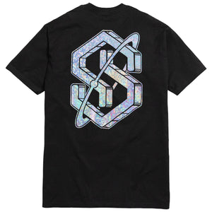 Kaleidoscope S Tee Black