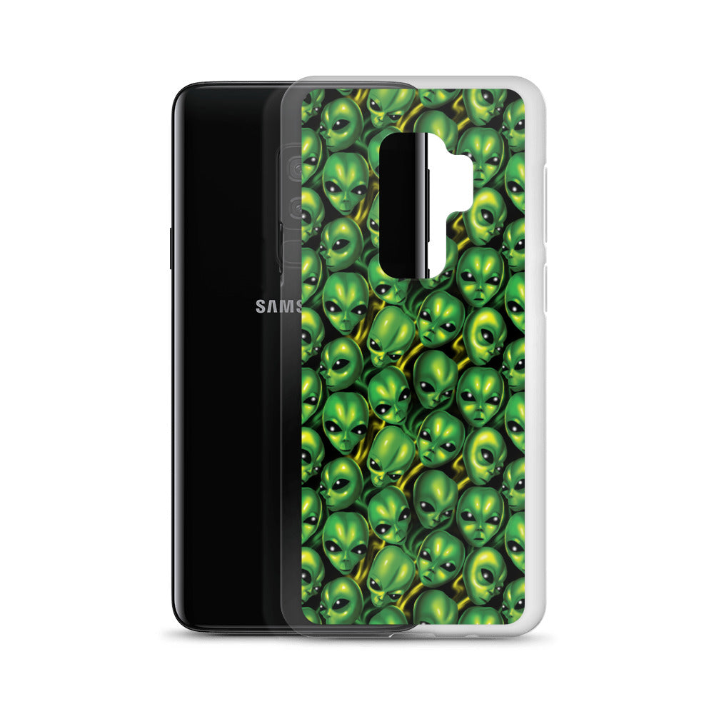 GREEN MAYO ALL OVER PRINT SAMSUNG CASE