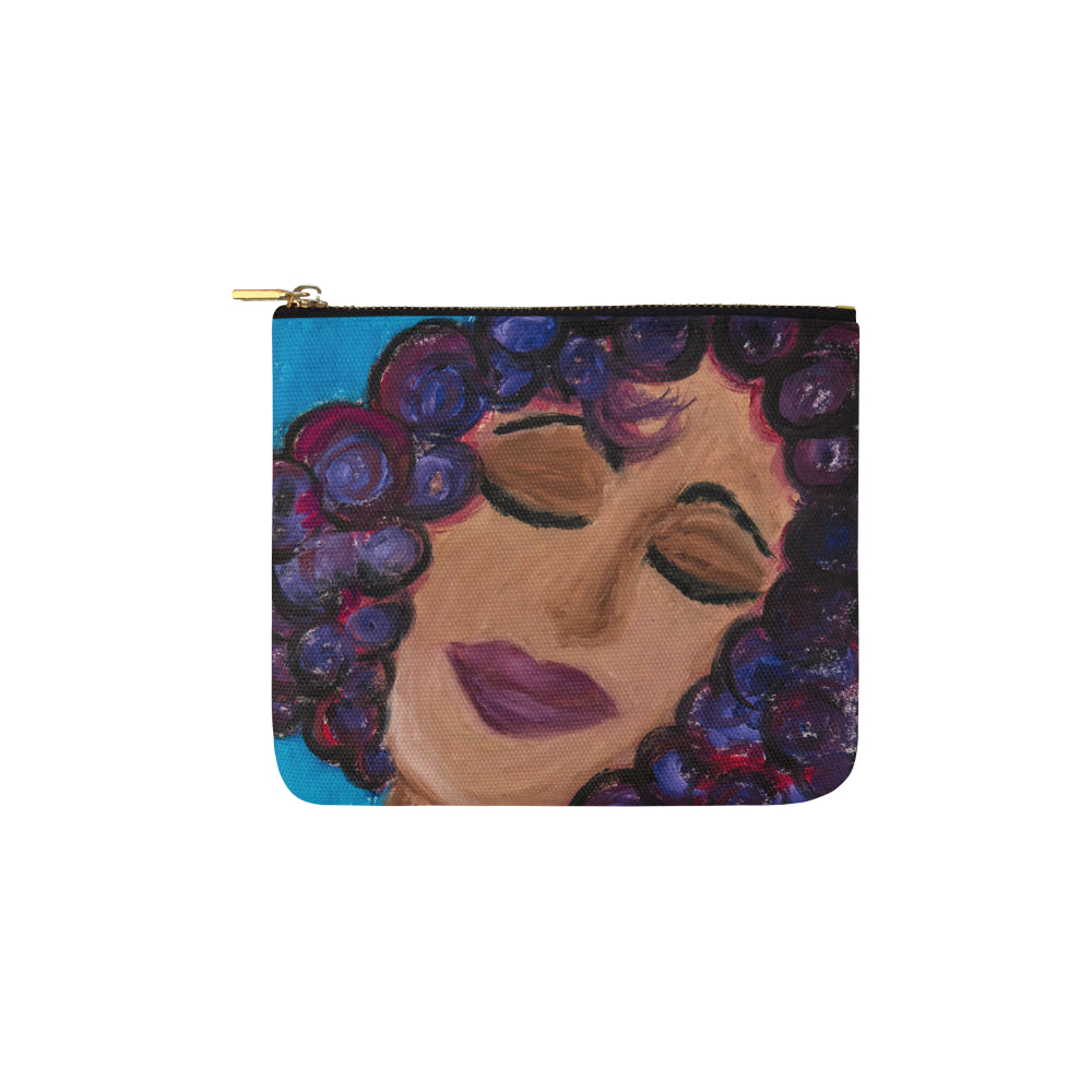 LeFemme Blessed Carry All Carry-All Pouch 6''x5''