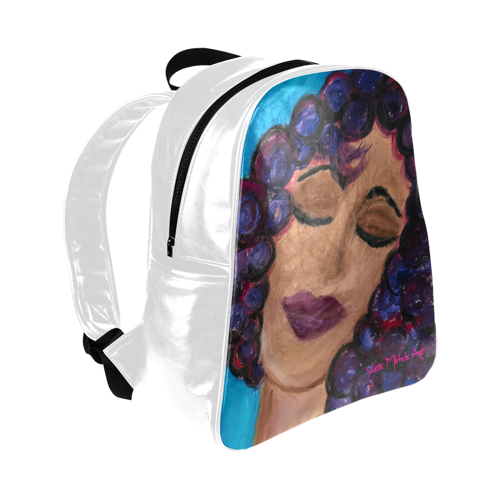 LeFemme Blessed Multi-Pockets Backpack (Model 1636)