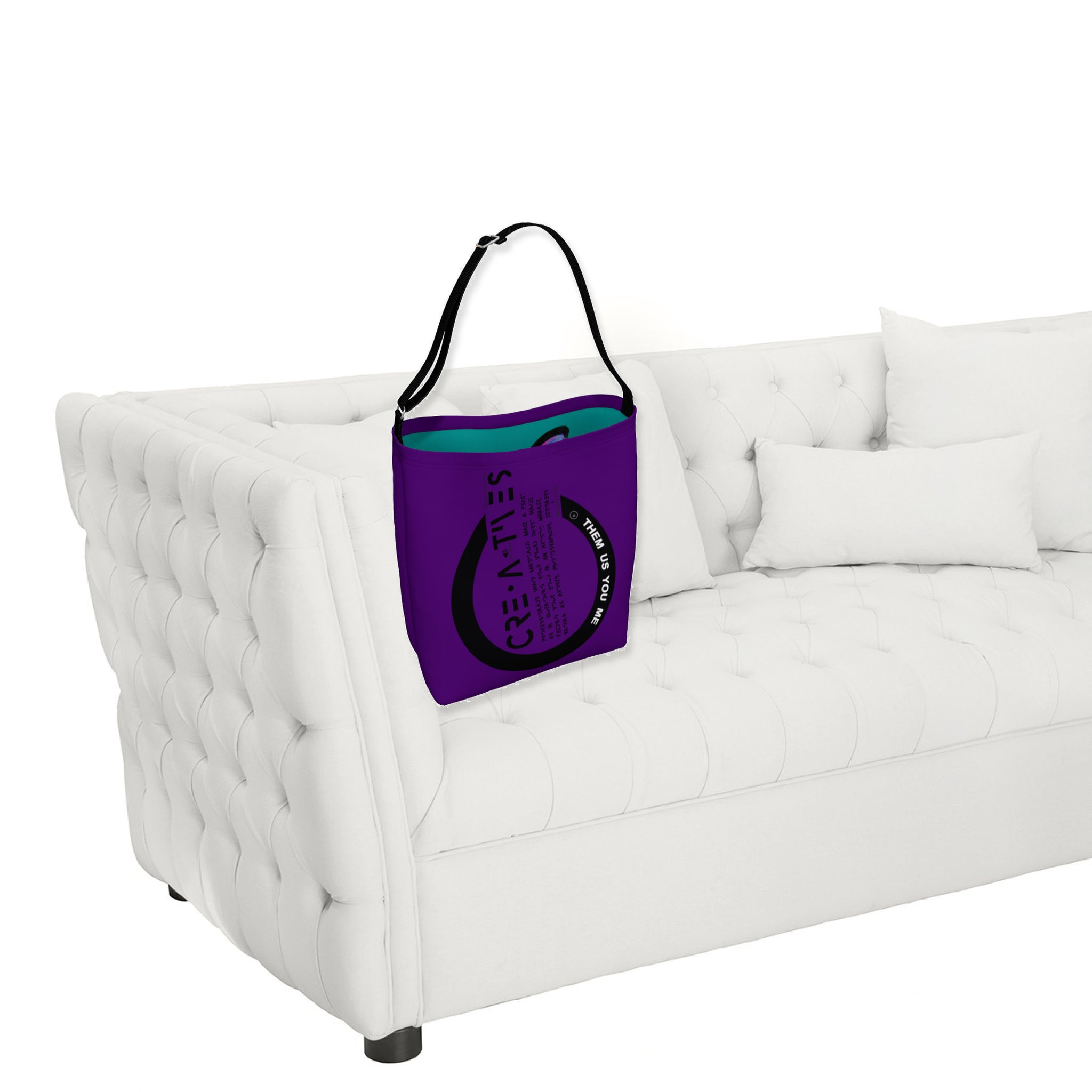 Creatives - Inspired Day Tote Grape