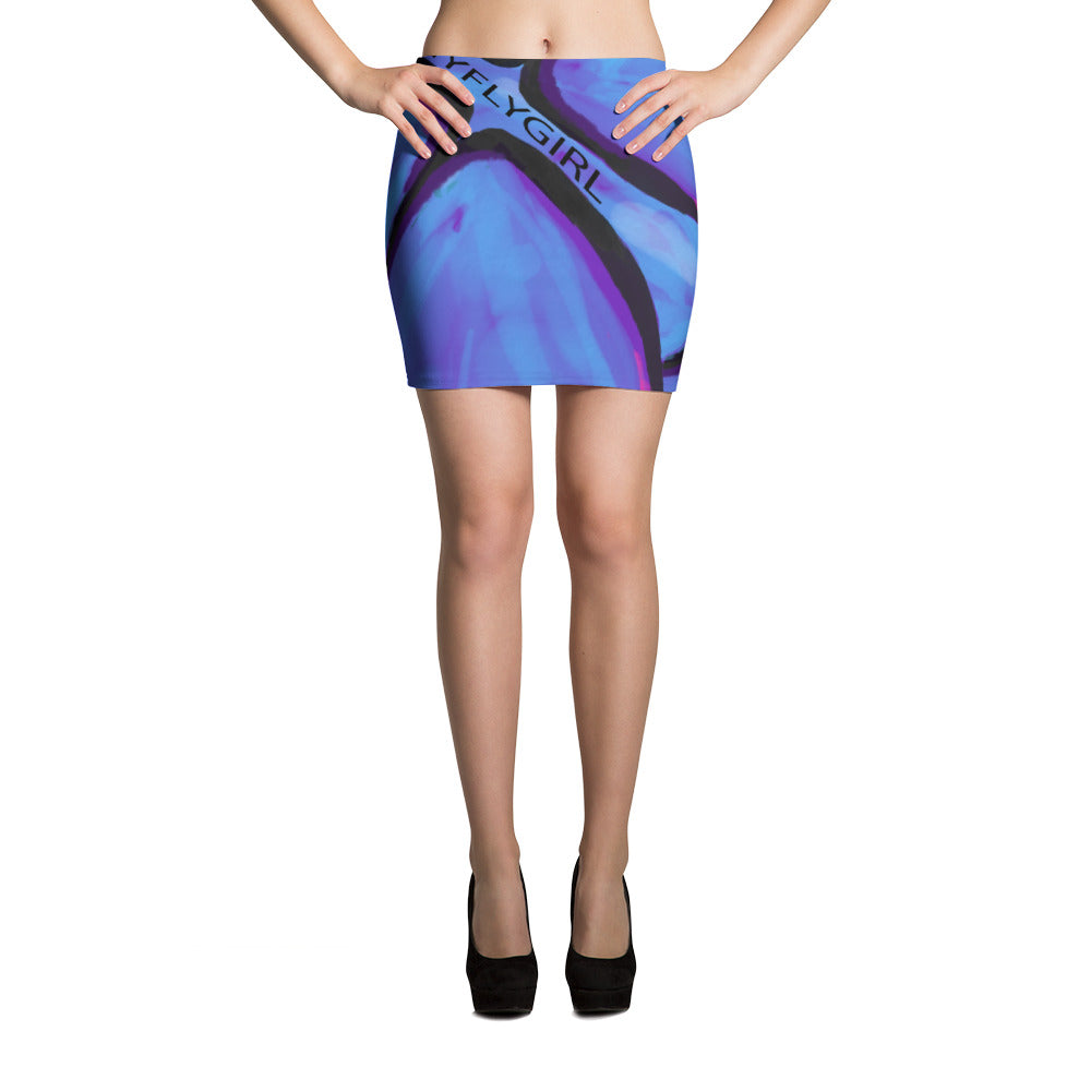MyFLYGirl Signature Butterfly - Mini Skirt