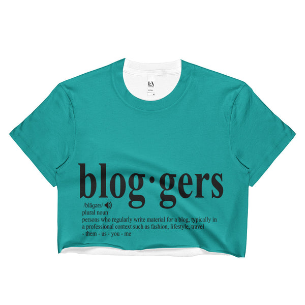 MyFlyGirl Inspired - Bloggers Sea Crop Top