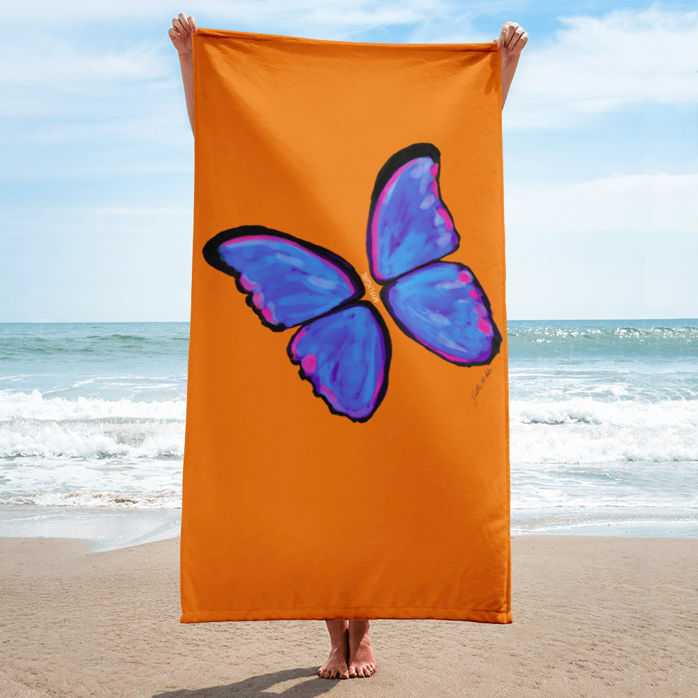 Metamorphosis MyFLYGirl Beach Towel