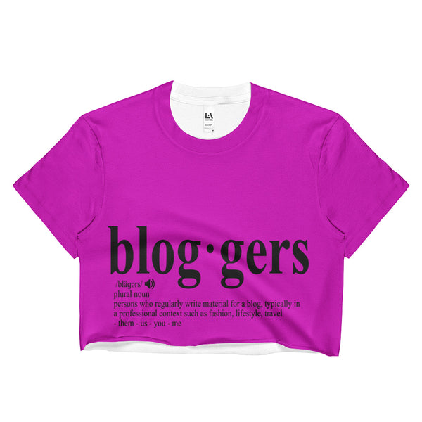 MyFlyGirl Inspired - Bloggers Pink Crop Top