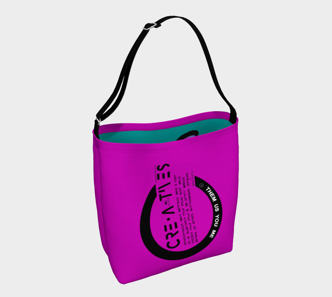 Creatives - Inspired Day Tote Pink