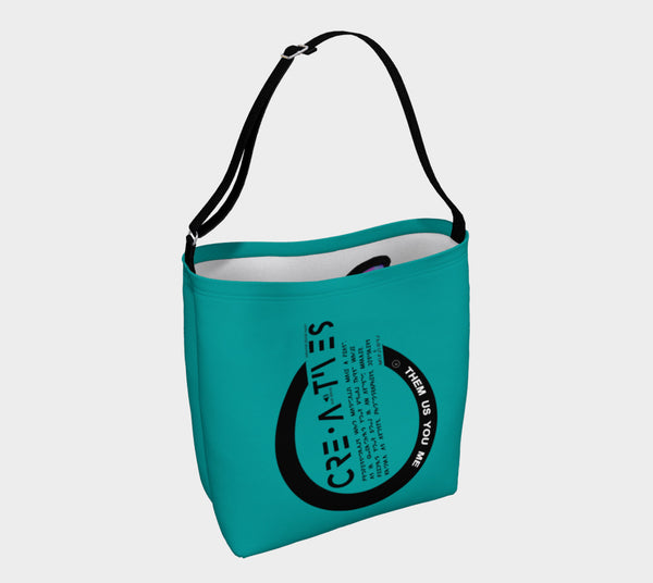 Creatives - Inspired Sea Blue Day Tote Bag - MyFlyGirl