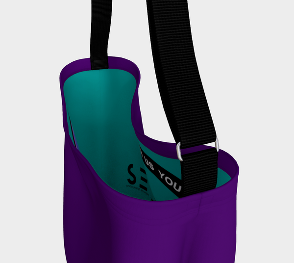 Creatives - Inspired Purple Day Tote Bag - MyFlyGirl