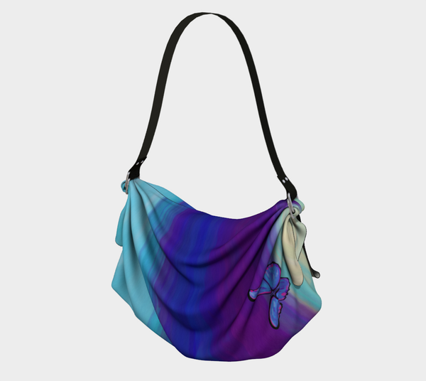 Sand and Sea Origami Tote