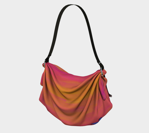 Summer Sunset Origami Bag