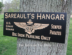 Military Retirement Sign