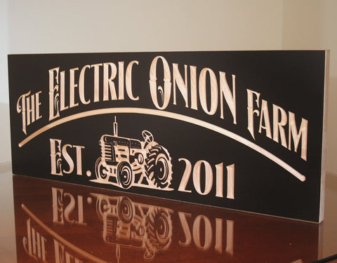 Farm House Sign