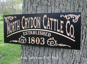 Rustic Farm Sign