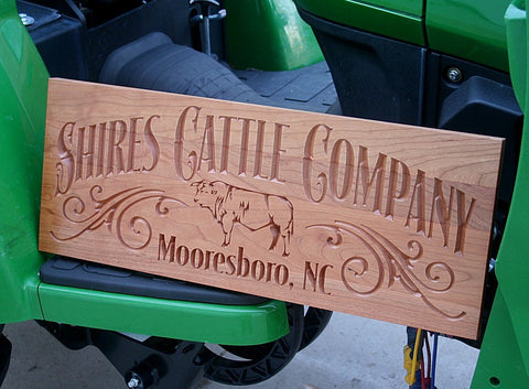Rustic Family Farm Sign
