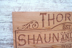 Custom Established Sign