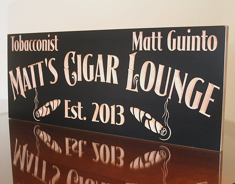 Cigar Bar Sign, Wedding Gift