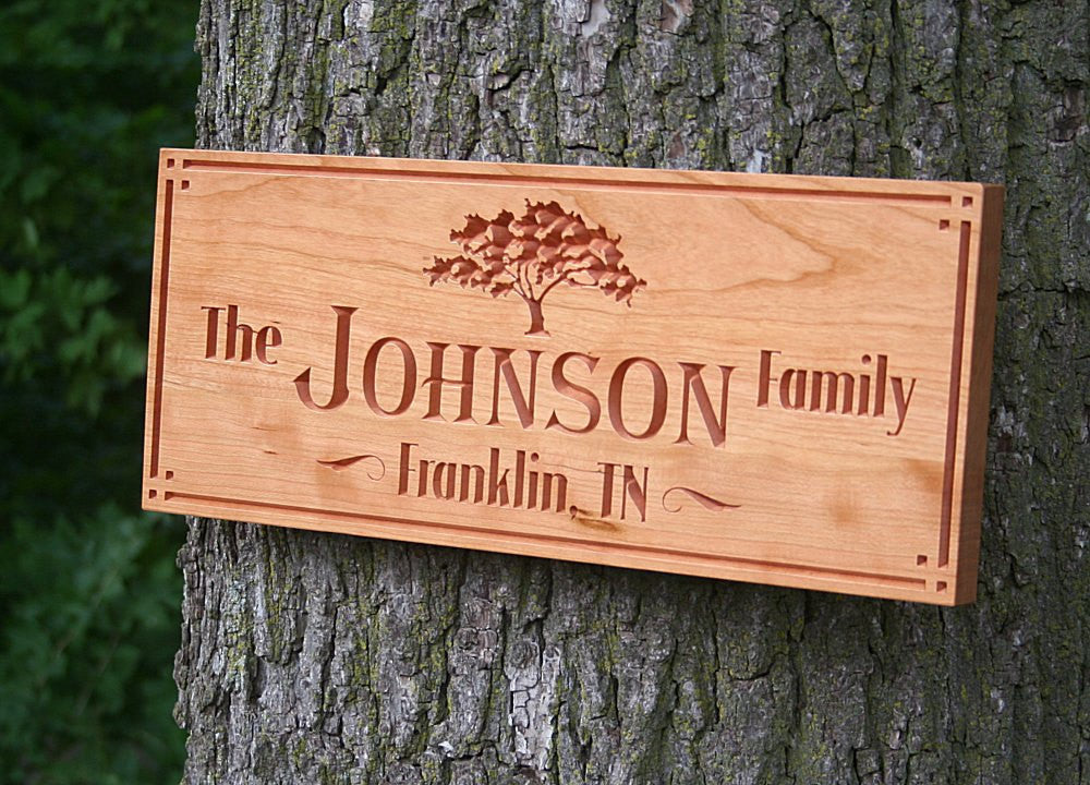 Custom Cabin Signs, Lake House Signs