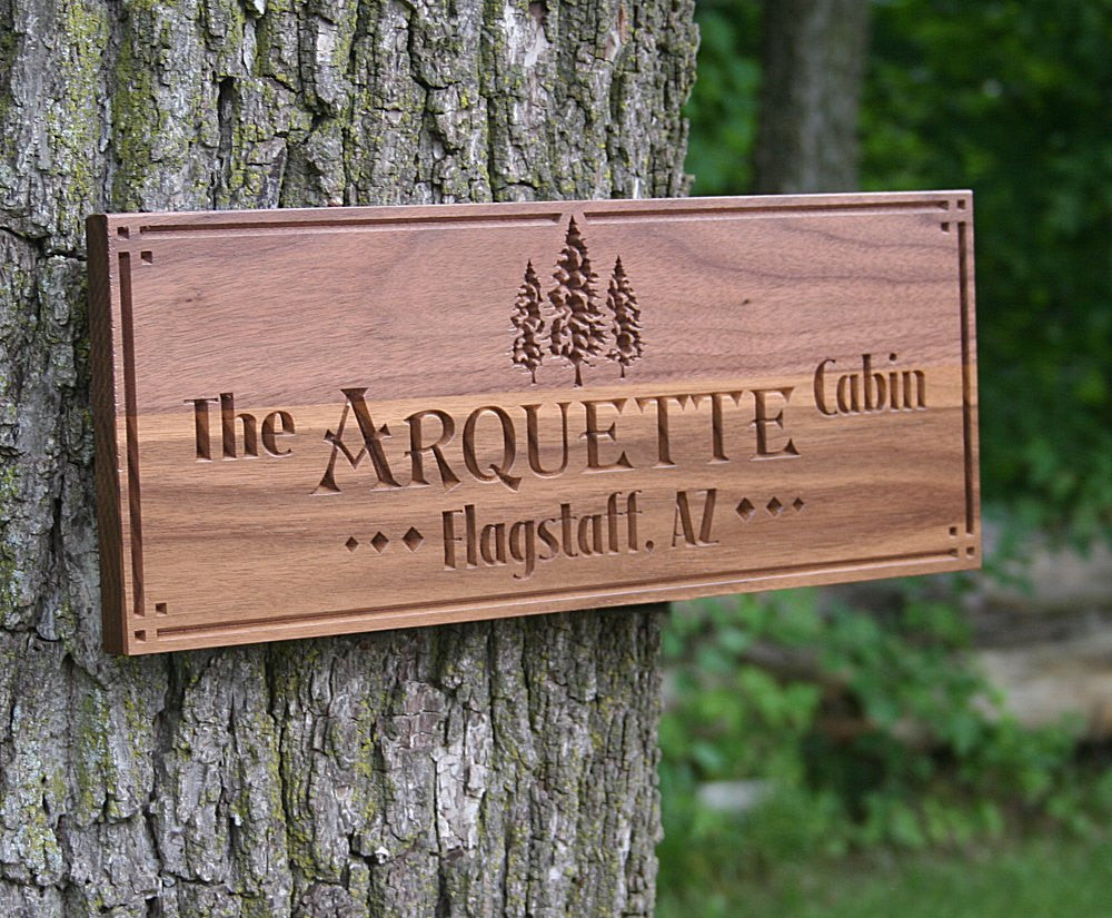 Rustic Family Established Signs