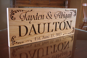 Custom Sign for Wedding