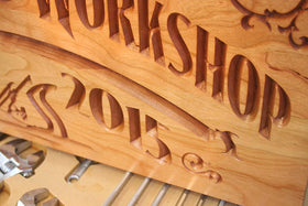 Custom Workshop Sign, Rustic Man Cave Sign