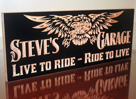 Motorcycle Signs, Boyfriend Gift Ideas