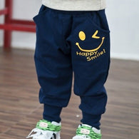 Cute Smile Sports Trousers Kids