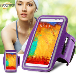 KISSCASE Universal Workout Running Arm Band Phone Holder Case